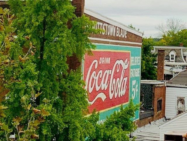Coca Cola Painting High Street Pottstown PA
