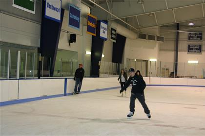 2015 Ice Skating at the Hill School
